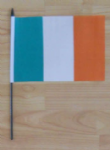Ireland Country Hand Flag - Medium.